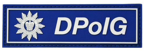 Rubber Patch DPolG blau