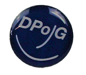 "Stick Pin ""DPolG-Smiley"""